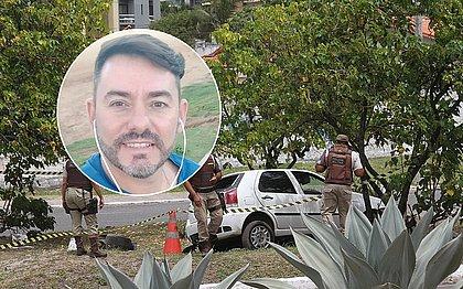 Márcio Perez foi baleado na nuca e perdeu controle de veículo
