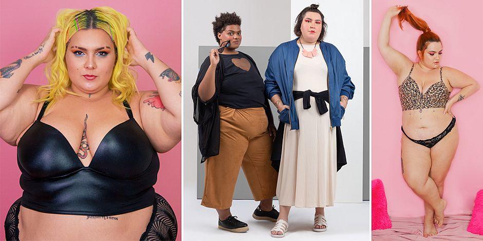 A marca GG.rie foi uma das que mais venderam no evento: lingerie. Acima do tamanho 60 também teve roupa com cortes mais elaborados