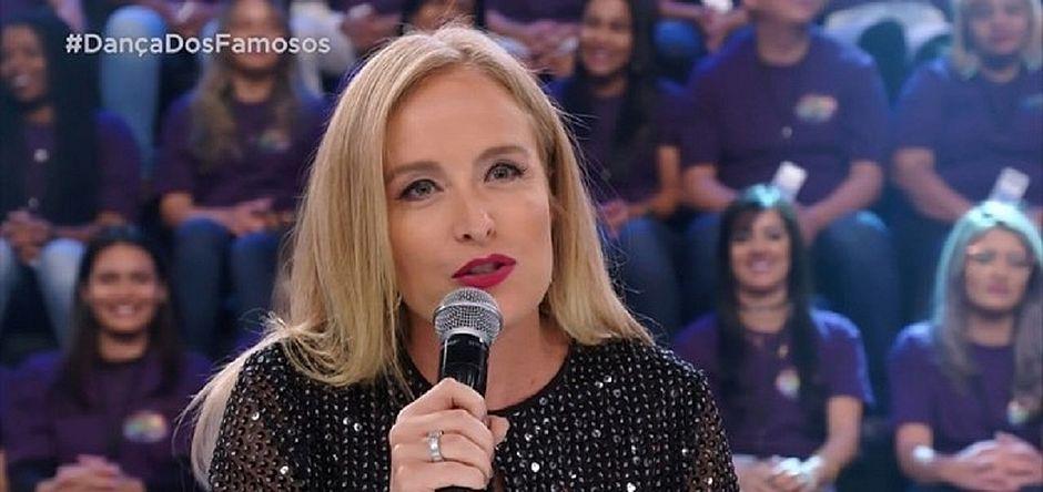 Angélica rouba a cena no Domingão do Faustão - Jornal