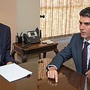 Moro com o governador do Pará, Helder Barbalho