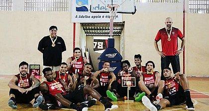 Equipe do Vitória garantiu o tricampeonato estadual consecutivo