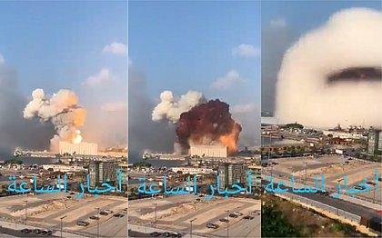Explosão destruiu parte de Beirute