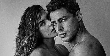 Foto de Mariana Goldfarb e Cauã Reymond nus é apagada do Instagram