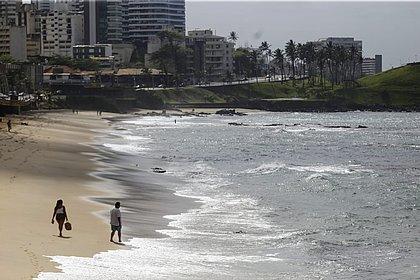 Praias estão fechadas desde 24 de fevereiro de 2021