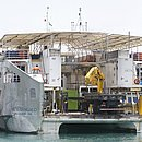 Embarcações não podem transportar passageiros por problema na rampa de acesso