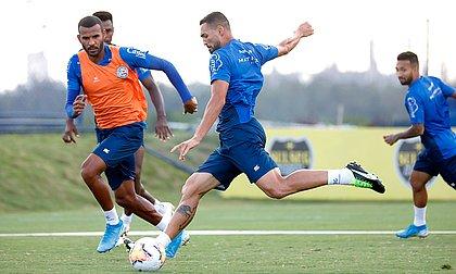 Gilberto mantém a camisa 9 do Bahia na Copa Sul-Americana