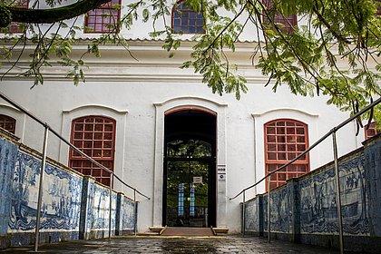 Entrada que dá para o casarão principal do MAM-BA, onde será instalada parte da exposição sobre a arquiteta Lina Bo Bardi