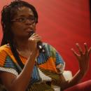 A filósofa paulista Djamila Ribeiro foi um dos destaques desta sábado da Flipelô