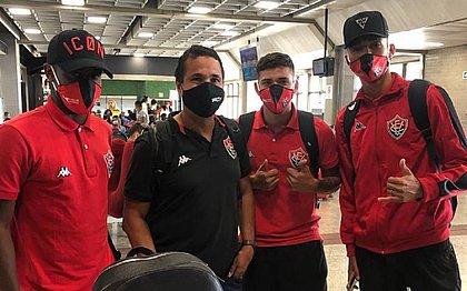 Delegação do Vitória voltou do Paraná com dois problemas médicos