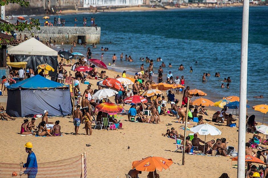 Soteropolitanos reclamam de nova interdição nas praias: 'Um exagero'