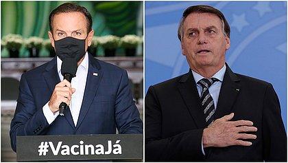 Temendo 'ser derrubado', Bolsonaro proíbe ministros de atender a pedidos de Doria