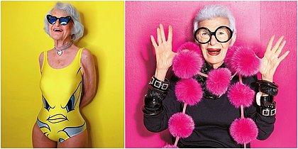 Conheça as influenciadoras que não escondem as marcas da idade