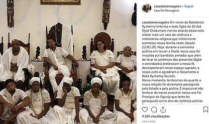 Invasão a terreiro durante festa é a primeira na Bahia, dizem pesquisadores