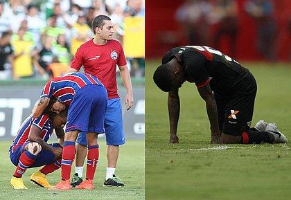 Último rebaixamento do Bahia foi em 2014 e do Vitória, em 2018