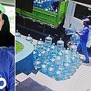 Entregador morto em desabamento juntava dinheiro para festa da filha (Foto: Reprodução)