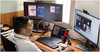 Arquiteto de dados da Microsoft Moisés Santos participou do Agenda Bahia