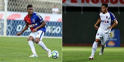 Wesley Dias e Leandro Vilela jogaram a Série A pelo Paraná