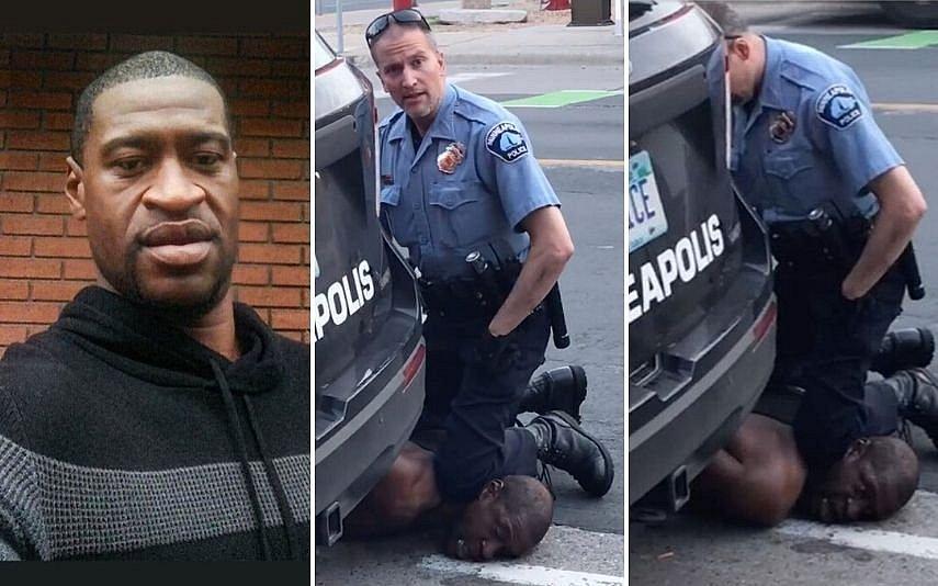 EUA: George Floyd e policial que o asfixiou trabalharam juntos
