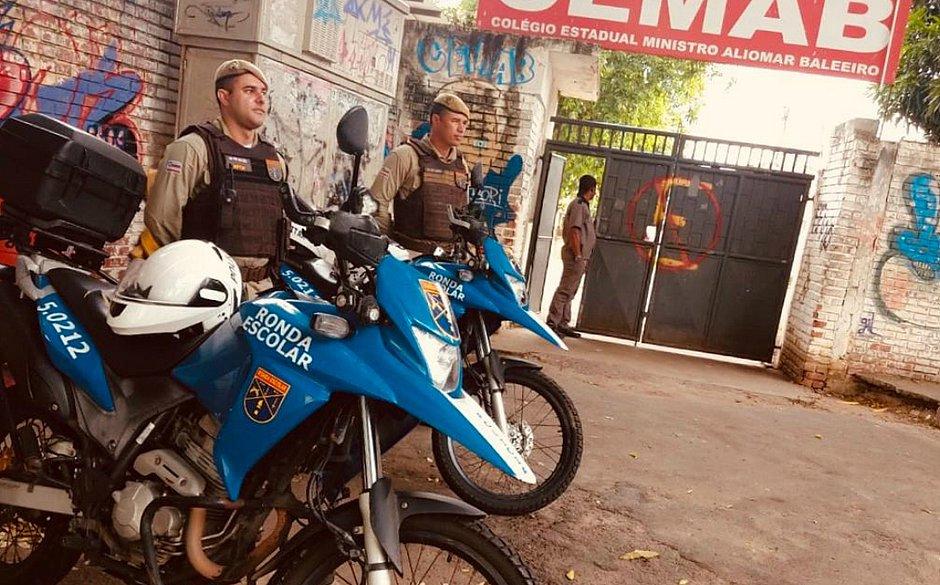 Polícia Militar reforça policiamento perto das escolas em período de matrícula