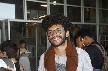 Matheus Pedreira, 24 anos, estudante