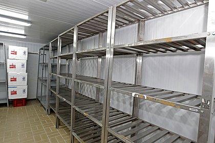 Câmara fria onde as doses ficarão armazenadas na chegada
