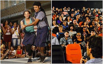 Festival de Artistas de Rua e Panorama Coisa de Cinema talvez não aconteçam (foto 1: Marina Silva/CORREIO; foto 2: Esperança Gadelha/divulgação)