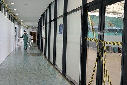 'Vi pessoas entrarem andando e saírem mortas': o dia que a Fonte Nova virou hospital