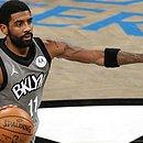 Kyrie Irving, durante partida do Brooklyn Nets pela NBA
