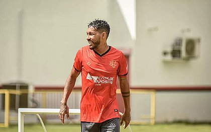 Ronan em treino do Vitória