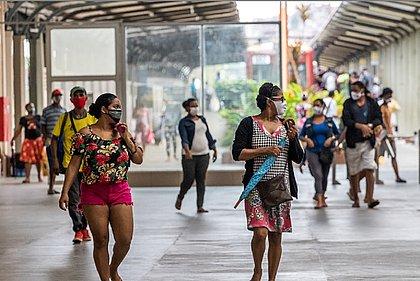 A estação de trem da Calçada é um dos locais em que as pessoas mais circulam
