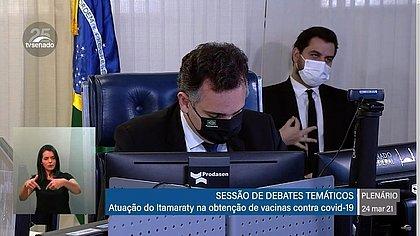 Polícia do Senado indicia assessor de Bolsonaro por gesto de conotação racista