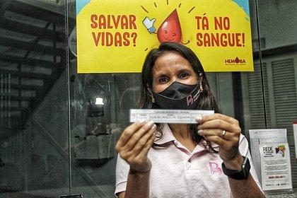 Mamães baianas inauguram campanha de doação de sangue da Hemoba