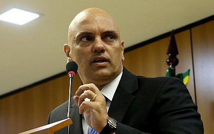 Ministros do STF 'apanham mais que jogadores de futebol', diz Moraes