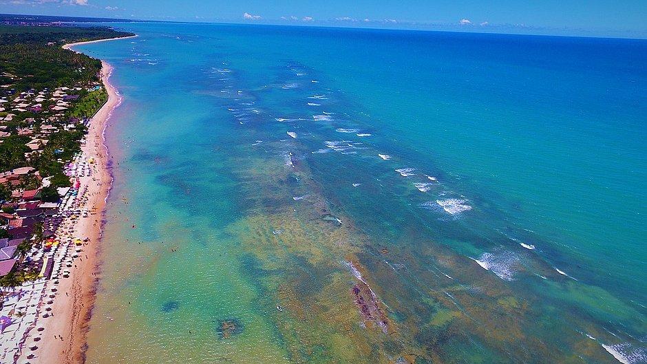 O Instituto Coral Vivo tem sede em Arraial D'Ajuda, no sul baiano