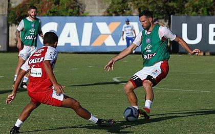 Lucas Fonseca é um dos desfalques do Bahia contra o Atlântico