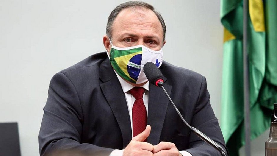 O ministro Eduardo Pazuello foi diagnosticado com Covid-19 há dez dias