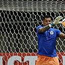 Goleiro Anderson comenta vacilo do Bahia no final do jogo contra o Ceará