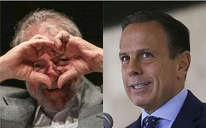 Lula e Dória deixam diferenças de lado e trocam afagos sobre crise do coronavírus