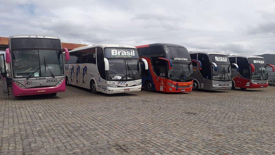 Rodovias: 12 ônibus com diversas irregularidades são apreendidos na Bahia