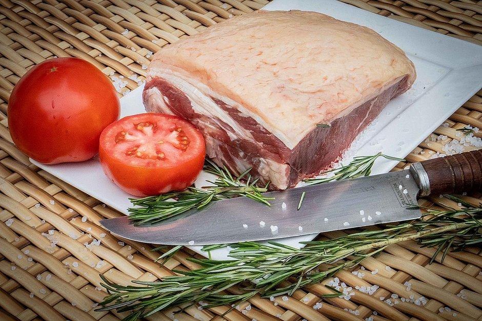 Corte argentino conhecido como Bife de chorizo do Prime Meat Club
