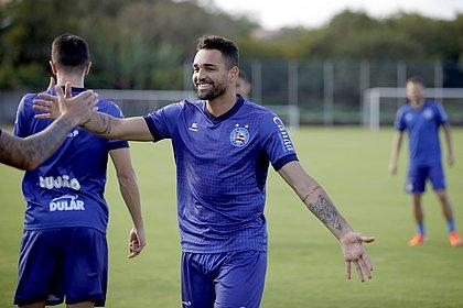 Gilberto é artilheiro do Bahia na temporada