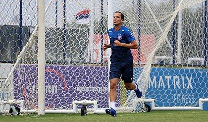 Rodriguinho foi liberado para voltar aos treinos com o elenco do Bahia