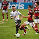Filipe Luís fez o único gol da partida, contra