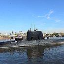 O submarino ARA San Juan, que desapareceu há um ano e um dia