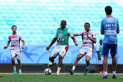 Rodrigão deve ter mais uma chance como titular diante do Grêmio