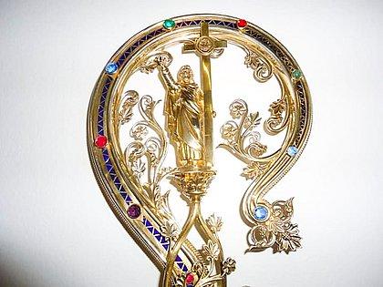 Báculo original foi encomendado em Paris e entregue a Dom Jeronymo em 1915