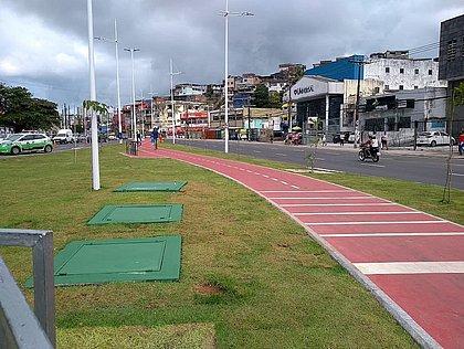Ciclovia da rua Cônego Pereira tem 200 metros