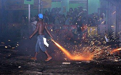 Bahia tem aumento de 57% no número de queimados por fogos no período junino