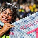 Marisa Nobile ganhou camisa de Cristiano Ronaldo