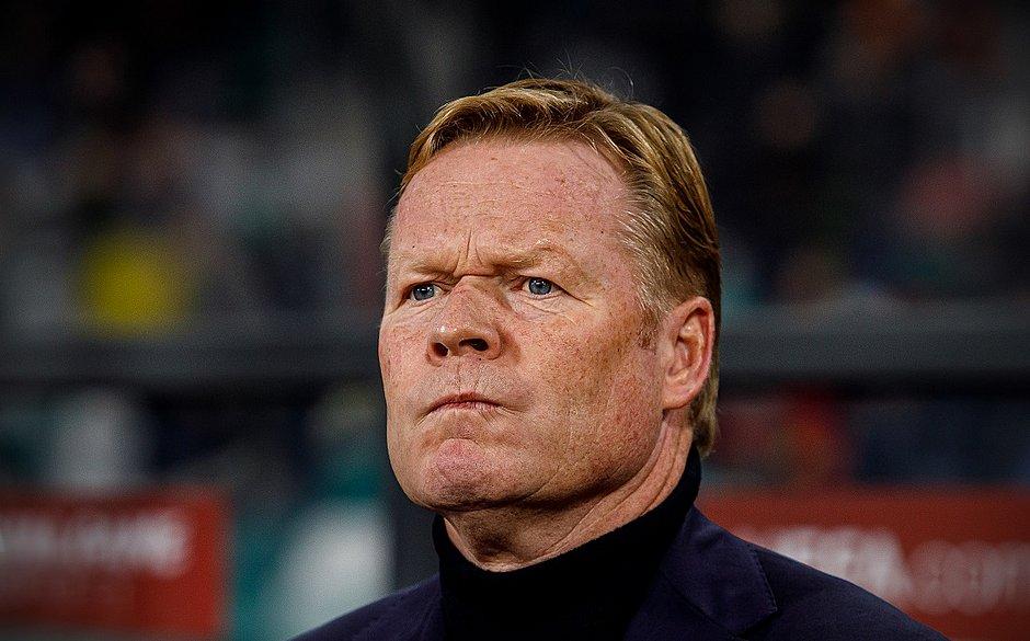 Ex-zagueiro do Barcelona, Koeman pode ser o novo técnico do clube